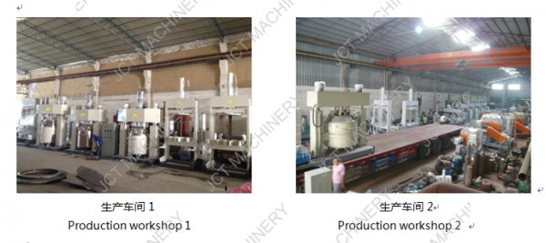 Dispersing Mixing Machine for Silicone Rubber Products workshop