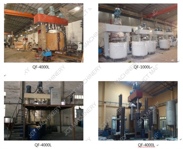 Dispersing Mixing Machine for Silicone Rubber Products