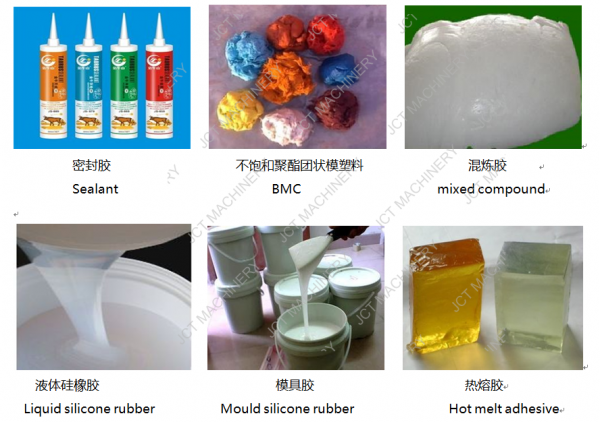 production of silicone