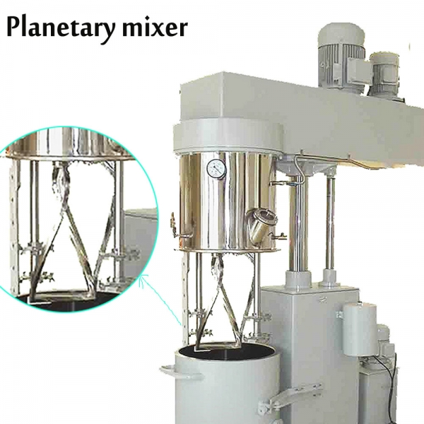 Chemical double planetary mixer