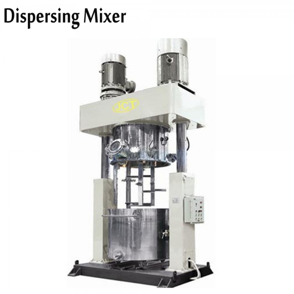 High shear dispersion mixer for ink