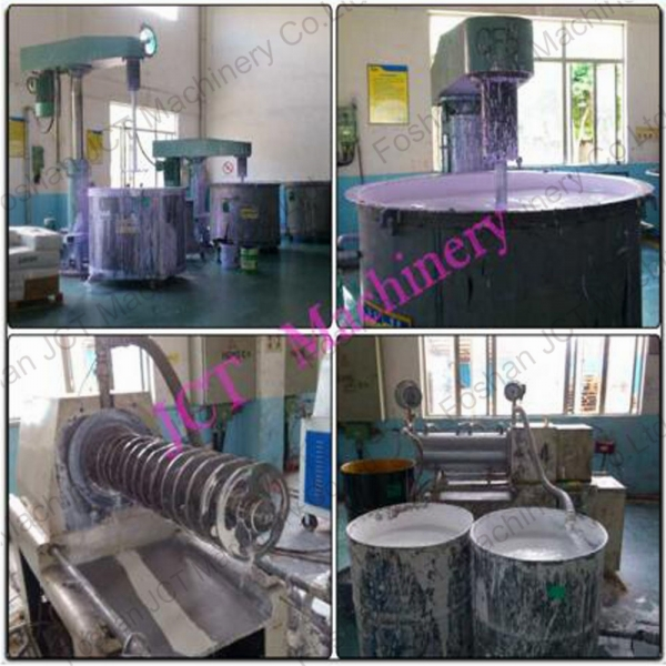 paint production machine