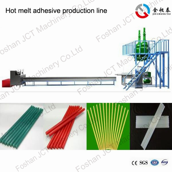 JCT reactive hot melt adhesives production line