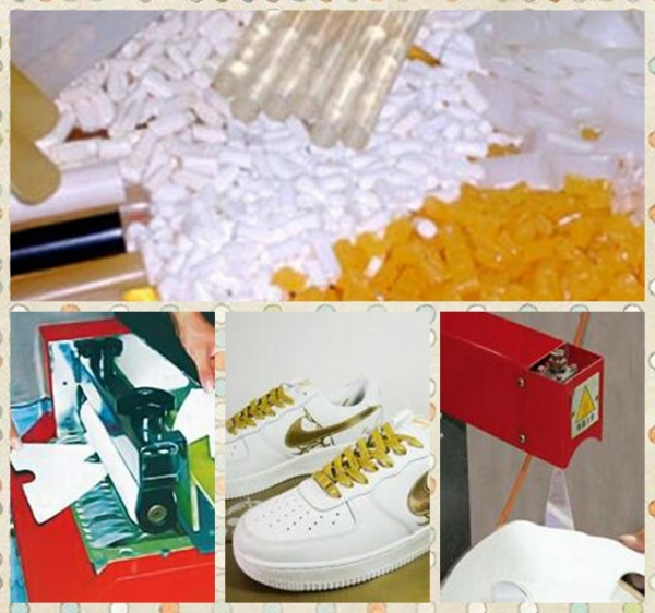 hot melt adhesive application