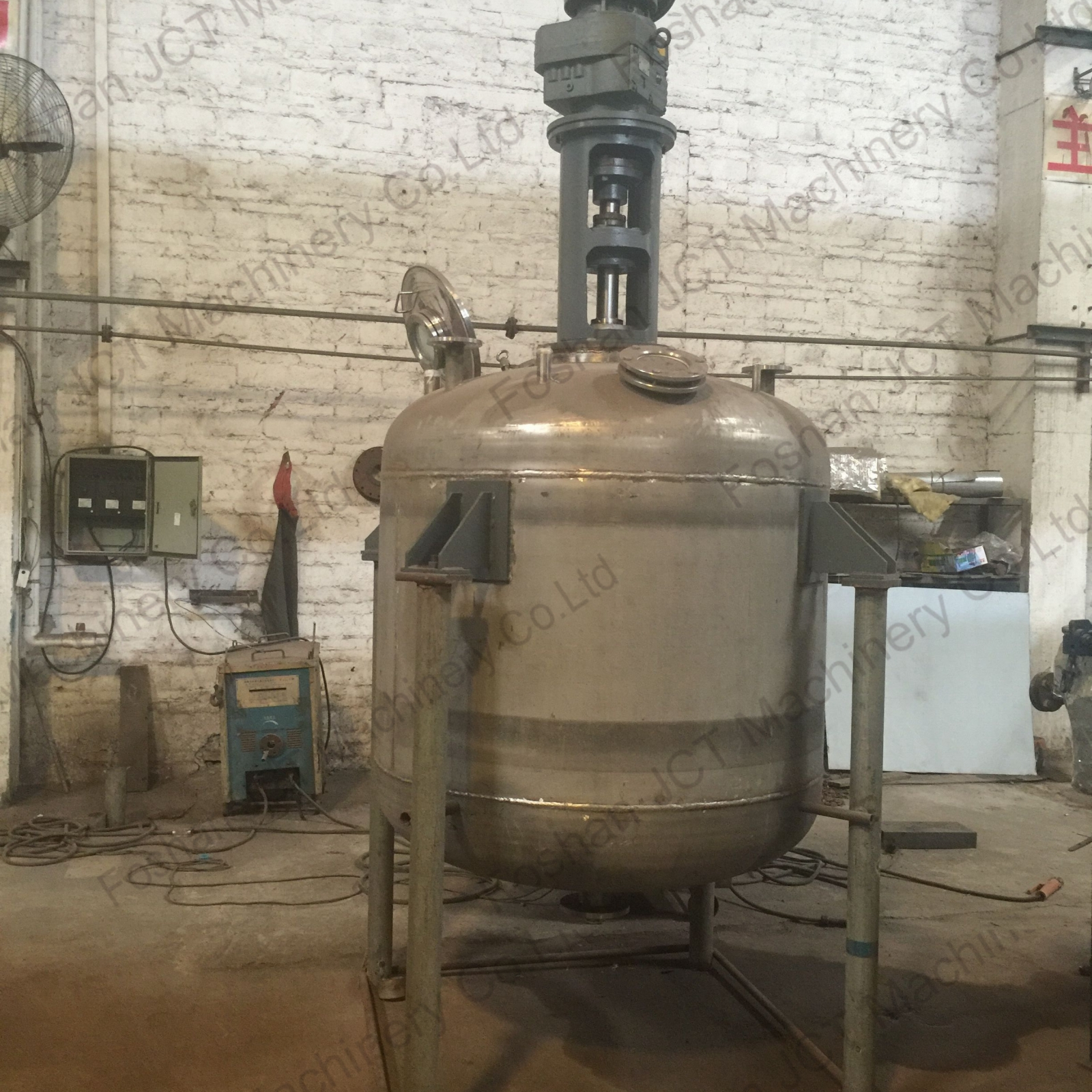 industrial mixing machine