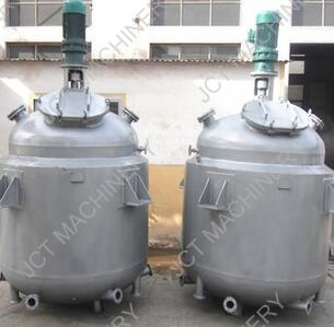 How about jacketed mixing vessel price?