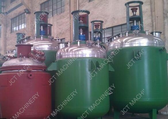 Can I design the structure of jacketed mixing tank for resins?