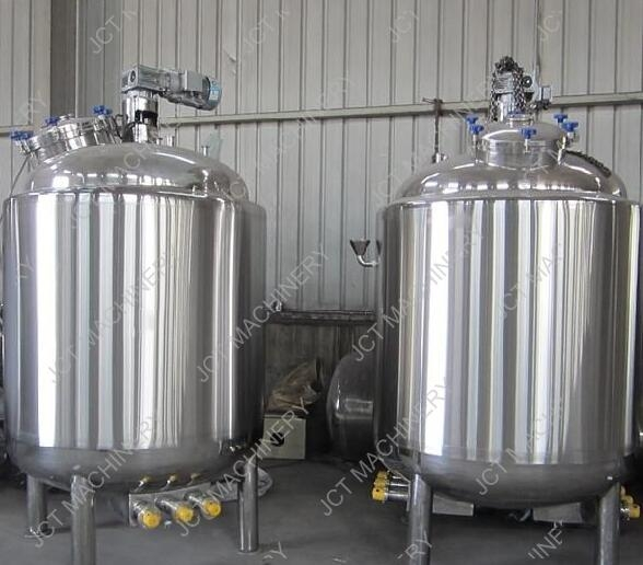used stainless tanks