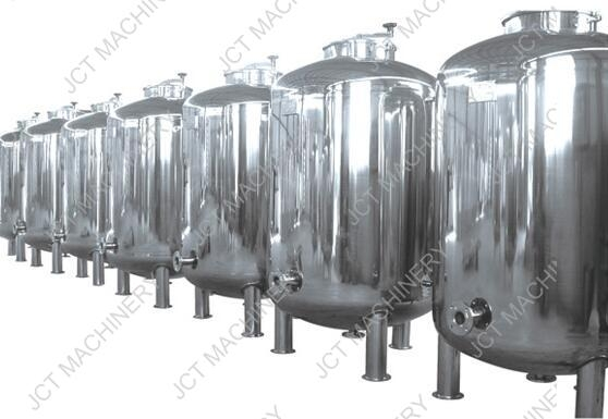 stainless steel holding tanks