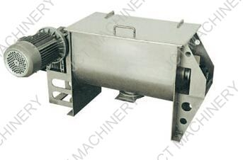 Could you tell me the working principle of industrial powder liquid mixer?