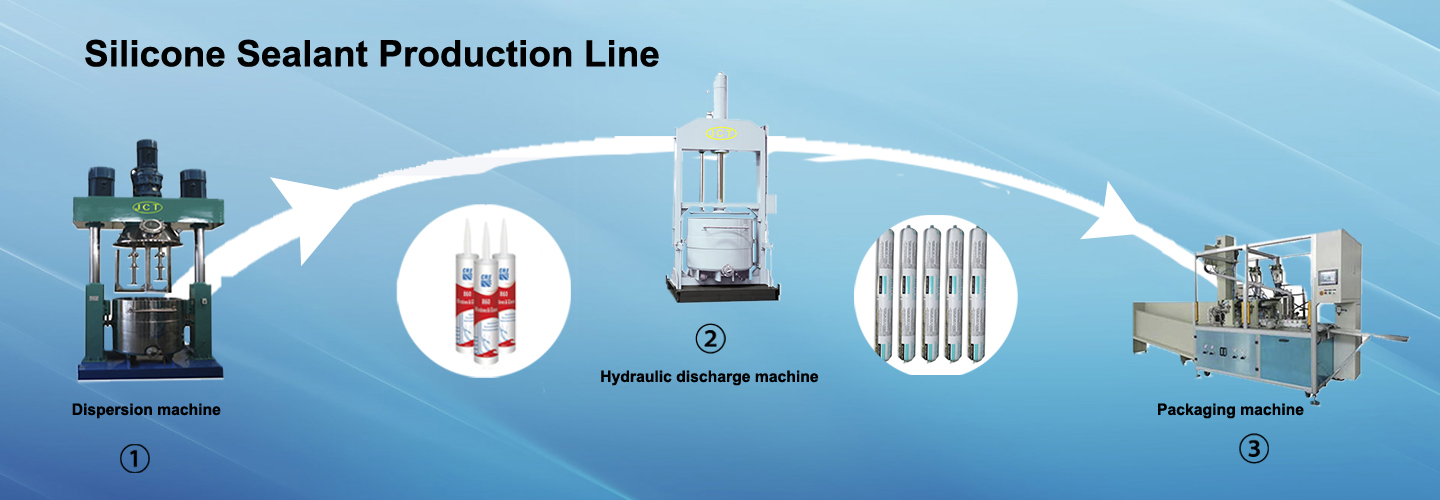 silicone sealant production process