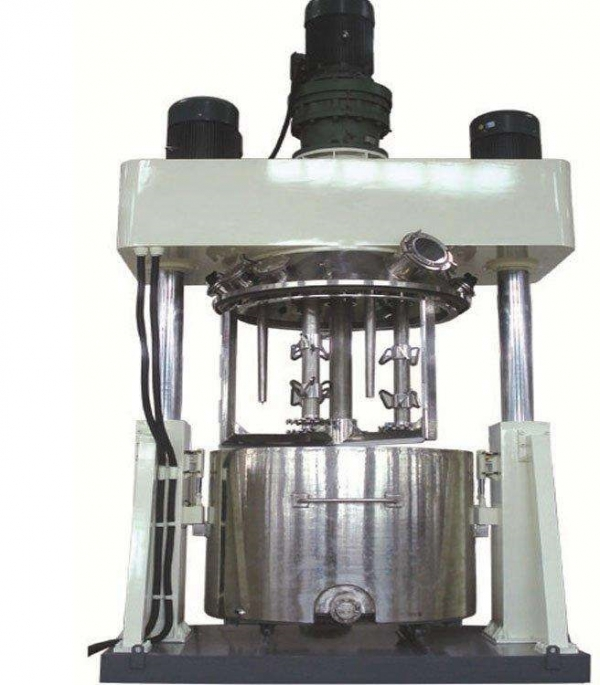 Powerful dispersing mixing machine